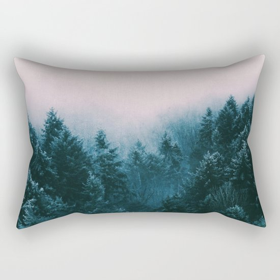 Pastel woods Rectangular Pillow
