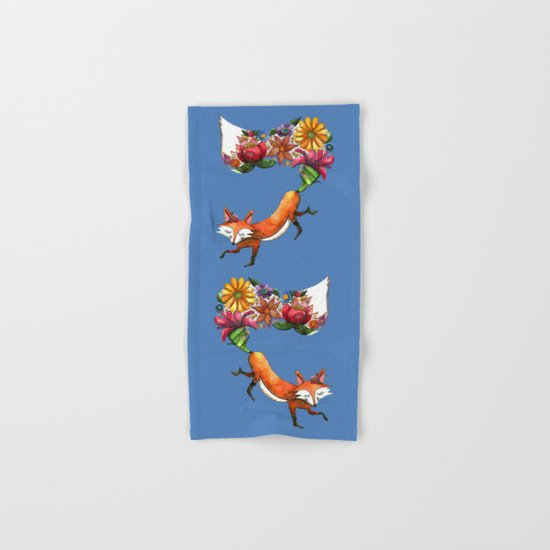 Hunt Flowers Not Foxes Two Hand & Bath Towel