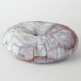 Agate Slab Floor Pillow