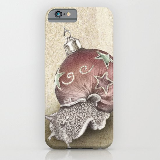 In which a snail is most festive this christmas  iPhone & iPod Case