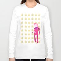 gumball Long Sleeve T-shirts featuring Adventure Time - Prince Gumball by LightningJinx
