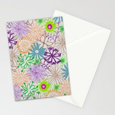 Drawn Flowers Stationery Cards