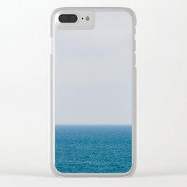 Sailing alone II Clear iPhone Case