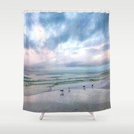 Beach #5 Shower Curtain