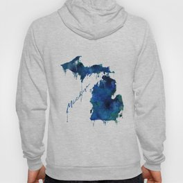 Michigan - wet paint Hoody