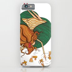 Girl and fish iPhone 6s Slim Case