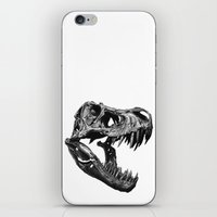 t rex iPhone & iPod Skins featuring T Rex by Sascha Selli