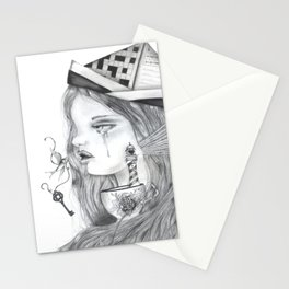 Storm in a tearcup Stationery Cards