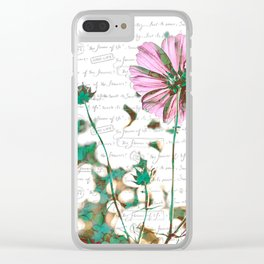 The Flower of Life - Free Hand Calligraphy! Clear iPhone Case