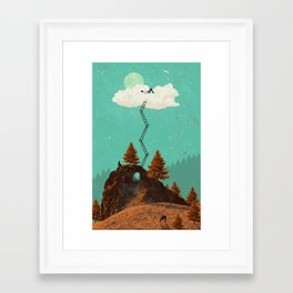 DREAMING Framed Art Print