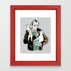 Cute Kid Framed Art Print