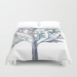 Watercolour Tree 5 Duvet Cover