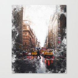 New York Streets Canvas Print