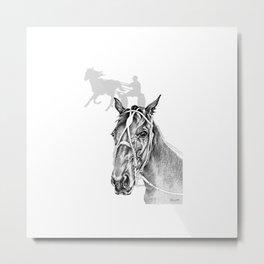Sir Castleton (NZ) - Standardbred Metal Print