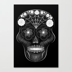 Hypnoskull Canvas Print