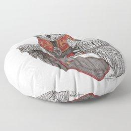General Owlington Floor Pillow