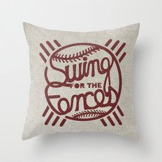 SW/NG! Throw Pillow