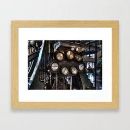 Pump House Toronto Framed Art Print