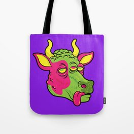 Space Cow Tote Bag