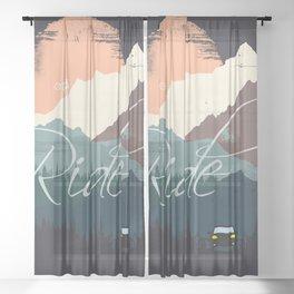 Ride Sheer Curtain