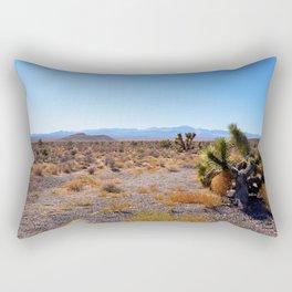 Desert near Groom Lake Rectangular Pillow