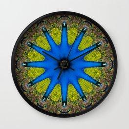 Feather Mandala 4 Wall Clock