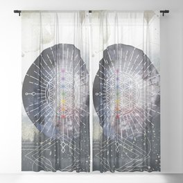 Namaste Sheer Curtain