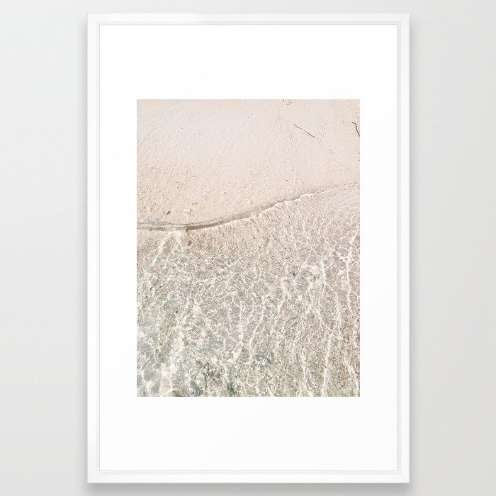 I Can Sea Clearly Now Framed Art Print