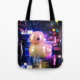 Rubber Duck Alley Tote Bag