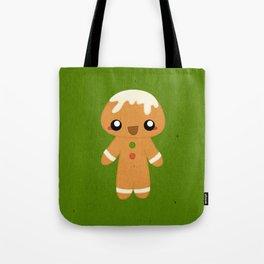 Christmas Card - Gingerbread Kid Tote Bag
