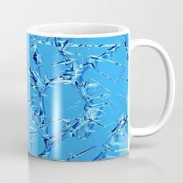 Thorny abstract, ice blue Coffee Mug