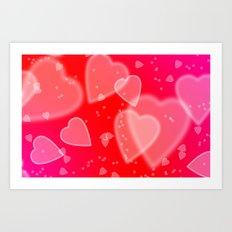 Heart Me Art Print