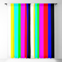 SMPTE color bars   TV Color Test Bars   Stand By Colour Bars Blackout Curtain