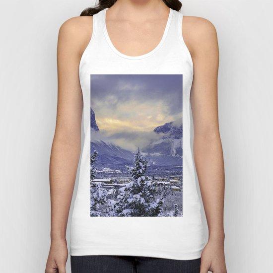 Winter Wonderland #snow Unisex Tank Top