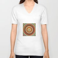 mod V-neck T-shirts featuring Mod  by Lori Wemple