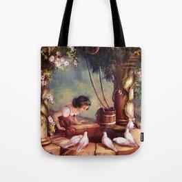 The Wishing Well Tote Bag