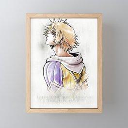 Tidus Artwork Final Fantasy X Framed Mini Art Print