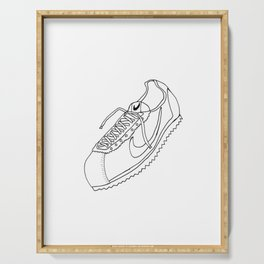 A Shoe Serving Tray