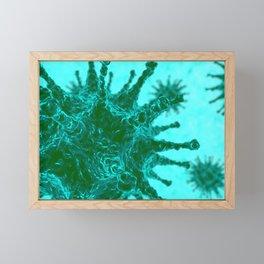Virus Framed Mini Art Print