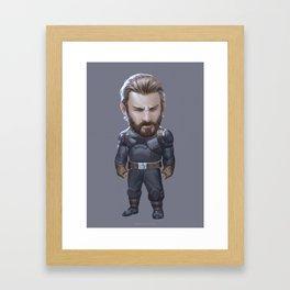 Capt Framed Art Print