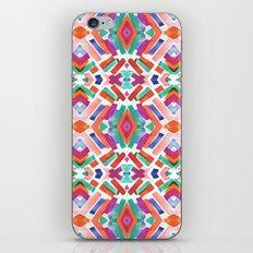 Watercolor Boho Dash 3 iPhone Skin