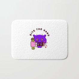 Bite the Hand Bath Mat