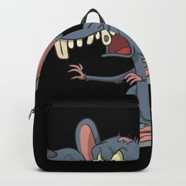 Scary zombie rat Backpack