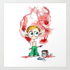 Little Coriolanus Art Print