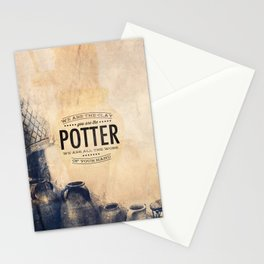 You Are the Potter - Isaiah 64:8 Stationery Cards