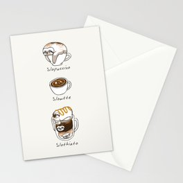 Slow Life Coffee Stationery Cards