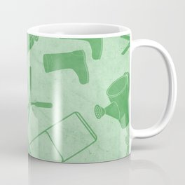 GARDEN TOOL KIT PATTERN Coffee Mug