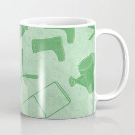 GARDEN TOOL KIT PATTERN Coffee Mug