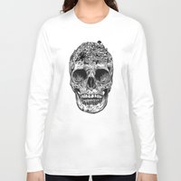 island Long Sleeve T-shirts featuring Skull Island by Rachel Caldwell