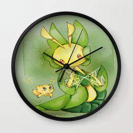 Joltik and Leavanny Wall Clock